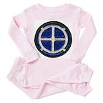 35TH INFANTRY DIVISION Toddler Pink Pajamas