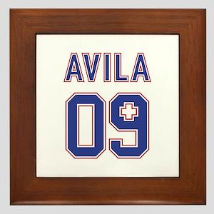 Avila for President Framed Tile