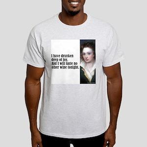 "Shelley ""Wine of Joy"" Light T-Shirt"