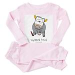 sigmoond freud Toddler Pink Pajamas