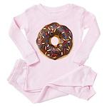 Doughnut Lovers Toddler Pink Pajamas
