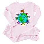 Animal Planet Rescue Toddler Pink Pajamas