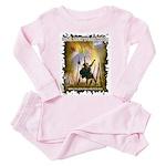 Real Men Wear Kilts Toddler Pink Pajamas