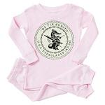 USS EVERGLADES Toddler Pink Pajamas