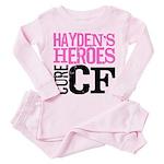 Hayden's Heroes Toddler Pink Pajamas
