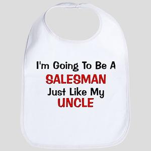 Salesman Uncle Profession Bib
