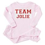 Team Jolie Toddler Pink Pajamas