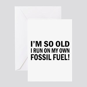 Old Age Humor Greeting Card