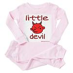 lildevil Toddler Pink Pajamas