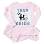 Celebrate Team Bride Toddler Pink Pajamas