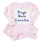 Boys Have Cooties Toddler Pink Pajamas