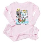 Godz Poodlz Toddler Pink Pajamas