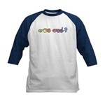 Pastel GOT ASL? Kids Baseball Jersey