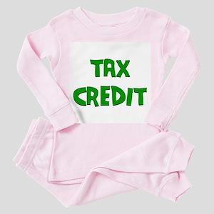 Tax Credit Toddler Pink Pajamas