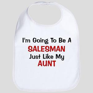 Salesman Aunt Profession Bib