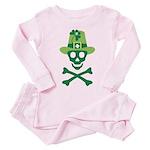 Li'l Seamus Skully Toddler Pink Pajamas