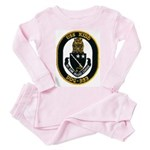 USS KIDD Toddler Pink Pajamas