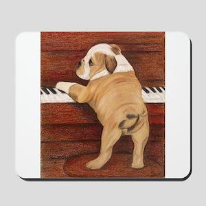 Piano Pup Mousepad