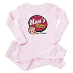 Mom's Diner Toddler Pink Pajamas