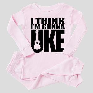 I think I'm gonna UKE Toddler Pink Pajamas