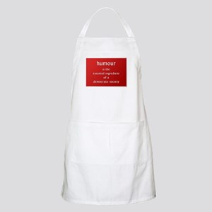 Humour is the essential ingre BBQ Apron