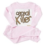 cereal killer Toddler Pink Pajamas