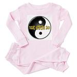 Tae Kwon Do Toddler Pink Pajamas
