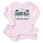 Cuyahoga Valley National Park Toddler Pink Pajamas