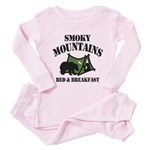 Smoky Mountains Pink Pajamas