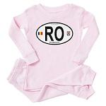 Romania Intl Oval Toddler Pink Pajamas