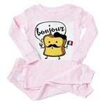French Toast Toddler Pink Pajamas