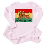 Reggae Toddler Pink Pajamas