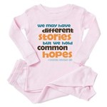 Common Hopes Toddler Pink Pajamas