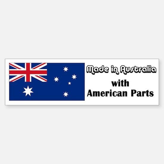 Made in Australia Bumper Car Car Sticker