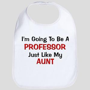 Professor Aunt Profession Bib
