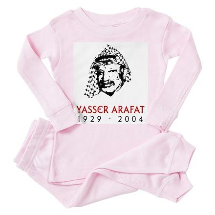 Yasser Arafat Toddler Pink Pajamas