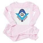 The Mini Mason Toddler Pink Pajamas