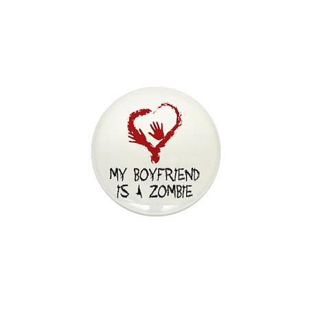 Zombie Romance Mini Button