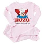 Bozo face Pink Pajamas