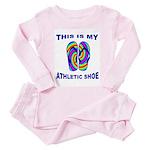 My Athletic Shoe Toddler Pink Pajamas