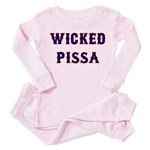Wicked Pissa Toddler Pink Pajamas