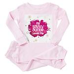 Savvy Auntie Toddler Pink Pajamas
