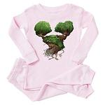 The Dryad Clump Toddler Pink Pajamas