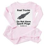 Real Trucks - Spark Plugs Toddler Pink Pajamas