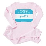 Hello my name is ORNERY Toddler Tee