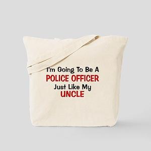 Police Officer Uncle Professi Tote Bag