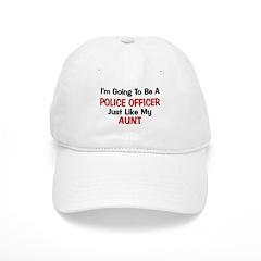 Police Officer Aunt Professio Baseball Cap
