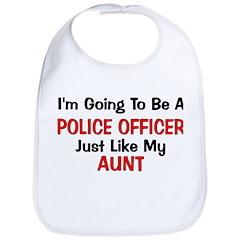 Police Officer Aunt Professio Bib