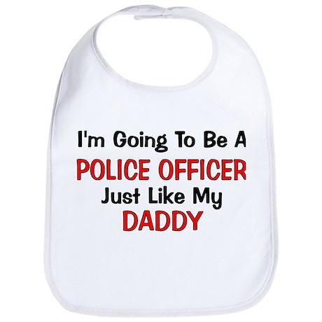 Police Officer Daddy Professi Bib