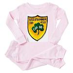USS O'BANNON Toddler Pink Pajamas